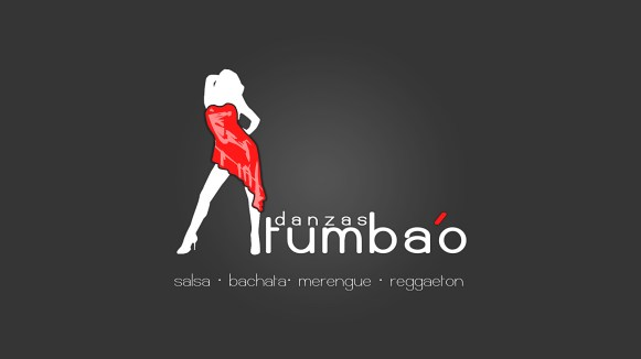 tumbao danzas Logogestaltung