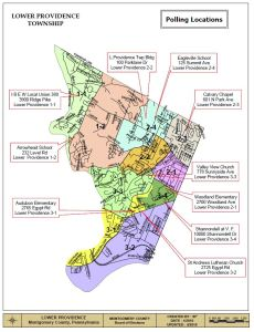 LOWER PROVIDENCE MAP