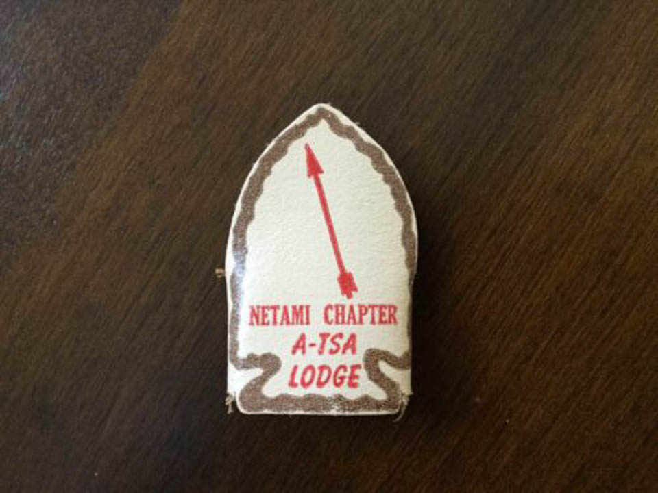 A-tsa Lodge Netami Chapter Neckerchief Slide