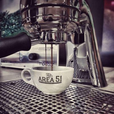 espresso extraction area 51