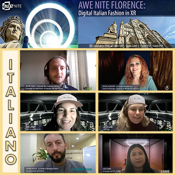 AWE Nite Florence: Digital Italian Fashion in XR