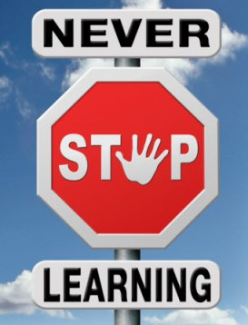 Never Stop Learning Signpost-43251589-resized