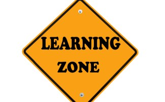 learning zone sign