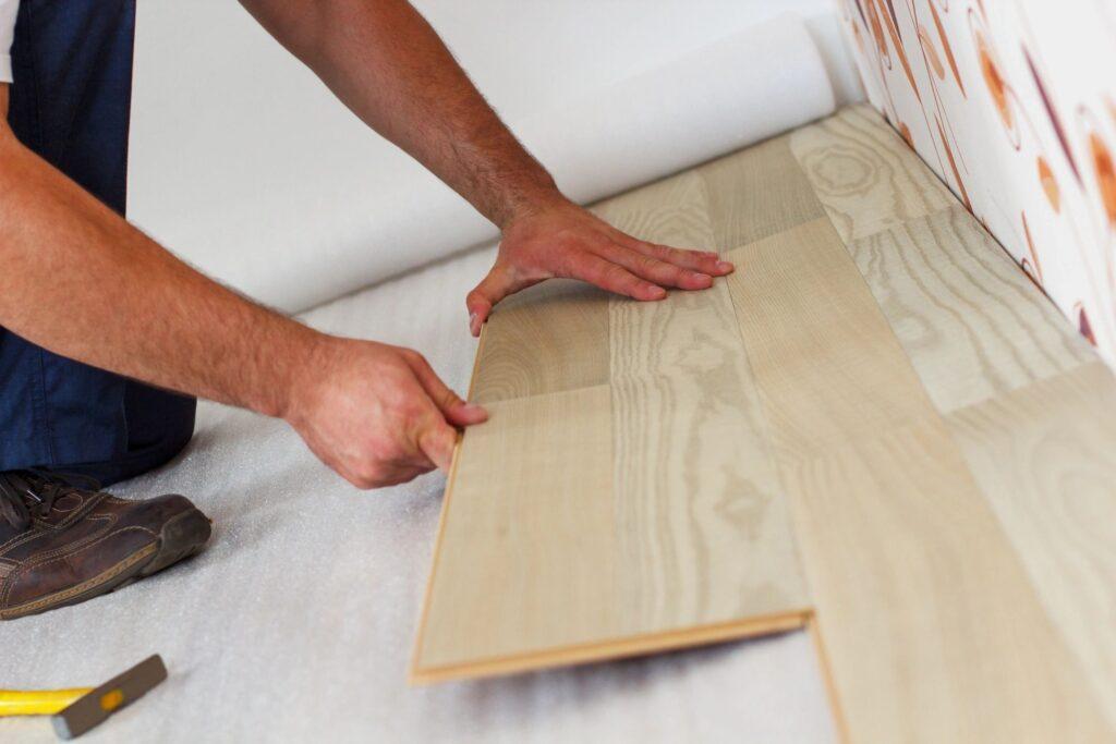 can you install vinyl plank flooring