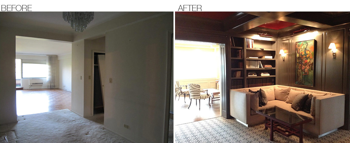 Before & After – Area Interior Design