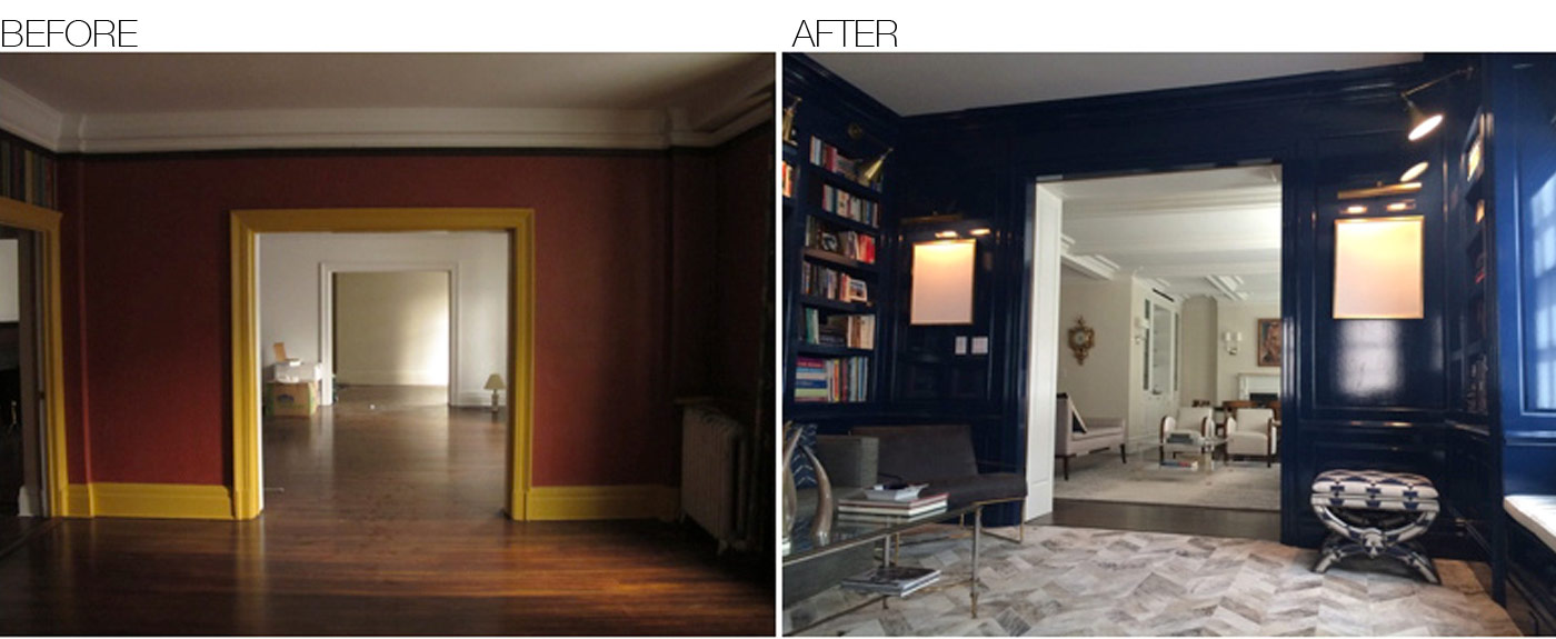 Before Amp After Area Interior Design