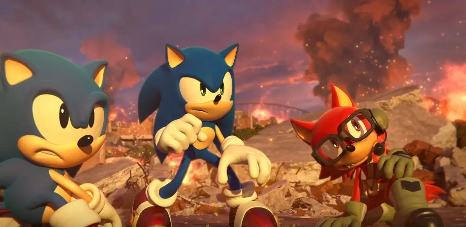 Sonic Forces 2017 Maker
