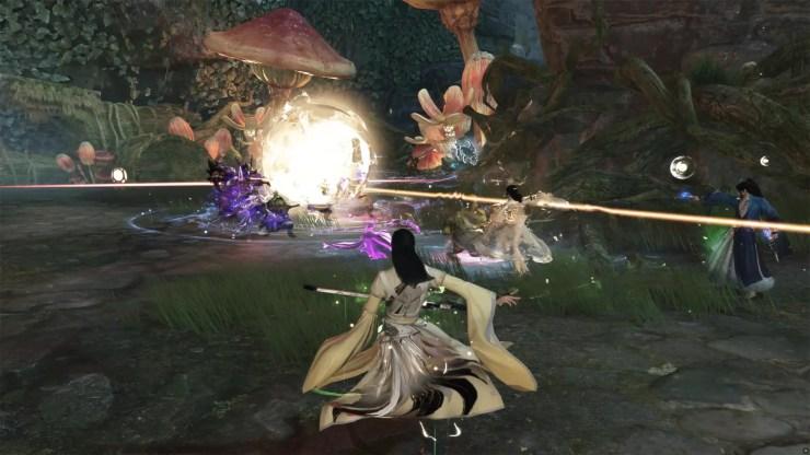 swords of legends online tráiler video jugabilidad acción mmo chino
