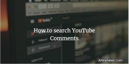 Comments Search for YouTube