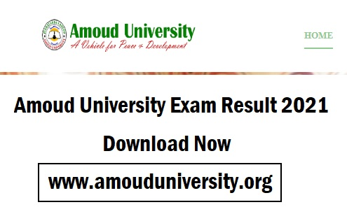 Amoud University Exam Result 2021