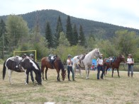 Jandana Ranch demonstrated Pat Parelli horsemanship.