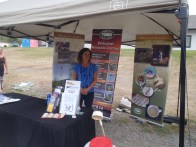 Information on the TNRD's mosquito control program was at one of the booths.