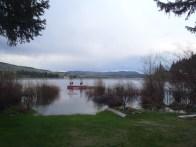 Pinantan Lake rising, earlier this week.
