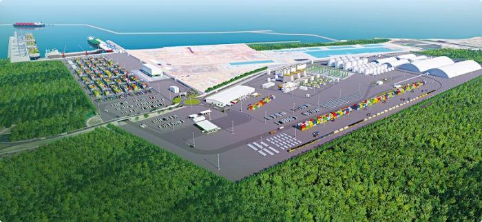 Empresa Imetame prepara a instalação de mais um porto no entorno de Barra do Riacho, vila de pescadores sacrificada pelo desenvolvimento capitalista CRÉDITO: Divulgação
