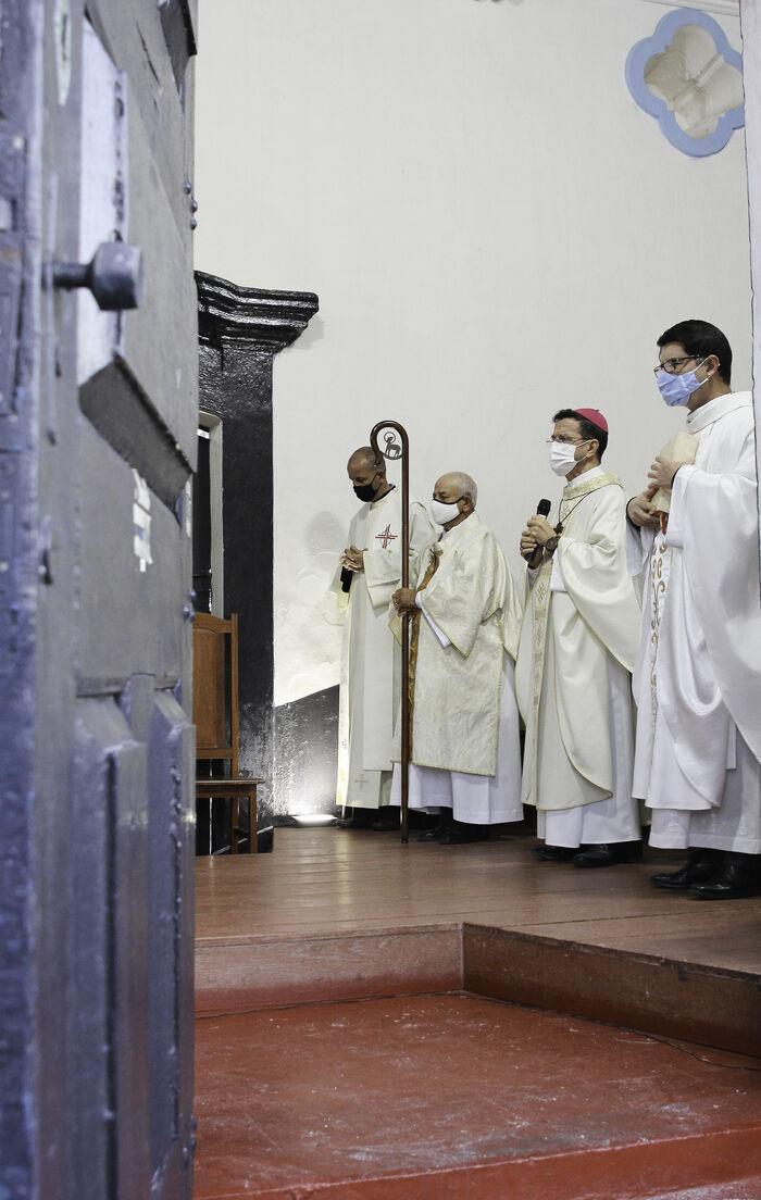 3 - 5 de Agosto, Missa de celebração em homenagem a Nossa Senhora das Neves _ Foto_ divulgação
