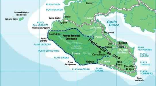 Osa Peninsula (Corcovado)