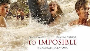 """""""LO IMPOSIBLE"""": CINE ESPAÑOL PARA TODA LA GALAXIA"""