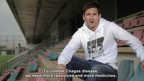 Apoyo de Messi a la Semana Chagas de Cochabamba