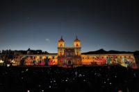 Christie brilla por tercer año consecutivo en la Fiesta de la Luz de Quito