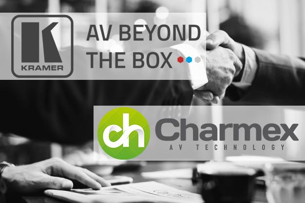Charmex alcanza un acuerdo de distribución con Kramer Electronics
