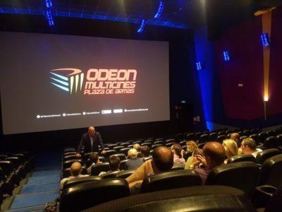 Odeon Multicines instala el primer proyector láser RGB de Andalucía de la mano de Christie RealLaser