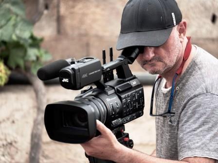 Patxi Hernández cuenta sus experiencias con la nueva cámara 4K GY-HC550 de JVC