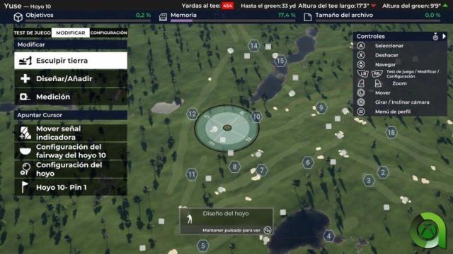 PGA tour 2k21 creador de campos