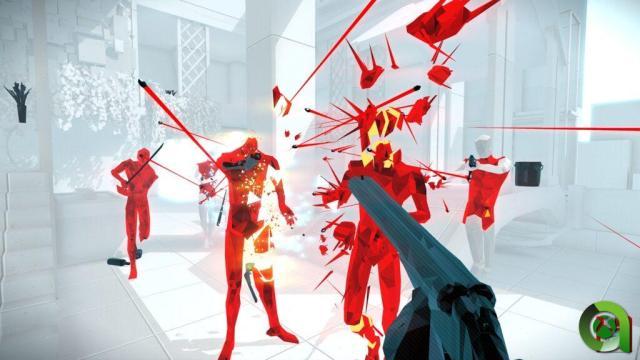 Más escopetas. SuperHot Mind Control Delete.