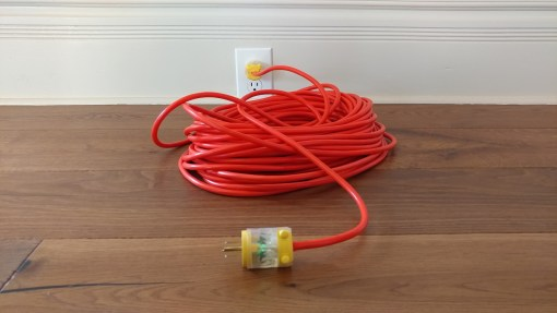 user adversary: extension cord