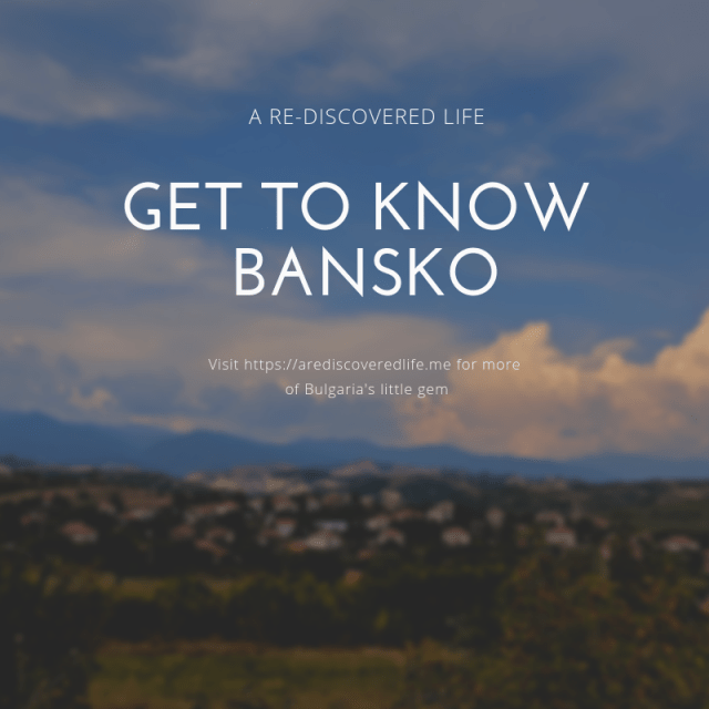 Get to know bansko bulgaria