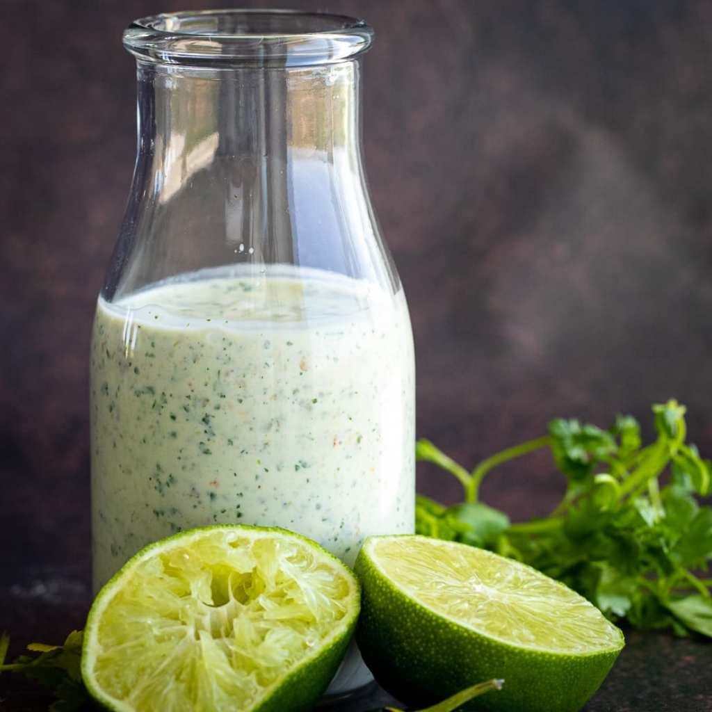 Easy, Spicy Jalapeno Ranch Dressing
