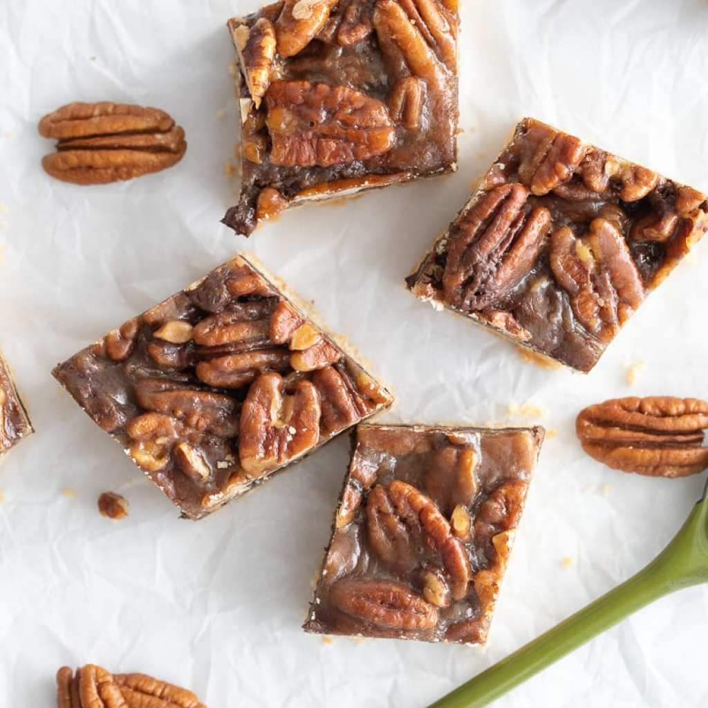 Amazing Caramel Chocolate Pecan Bars