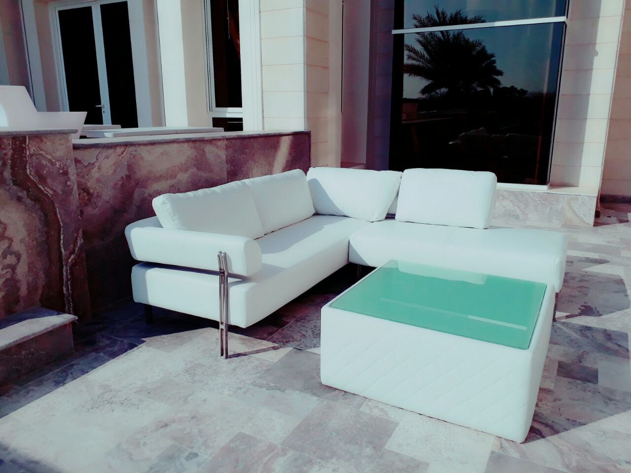 sofa covers online dubai studio converting outdoor rent or buy chelsea l shaped event rental