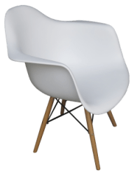 Scandinavian Armchair - Areeka Event Rentals