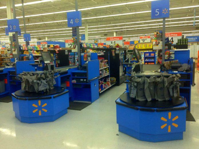 Walmart shelf-scanning robots