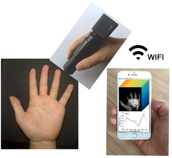 Wireless Handheld Spectrometer