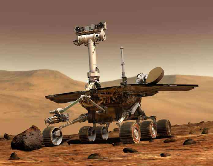 spinonews Mars rover Opportunity