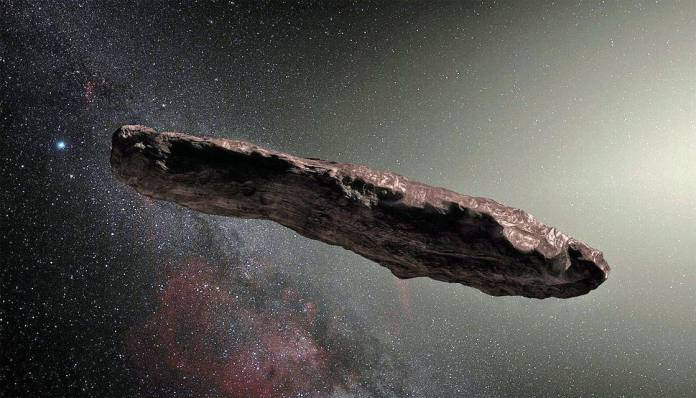spinonews Oumuamua a mysterious interstellar object's
