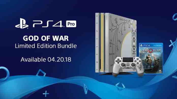 Limited-Edition God of War PS4 Pro bundle
