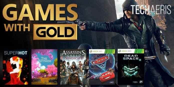 spinonews free games for Xbox Live Gold subscribers