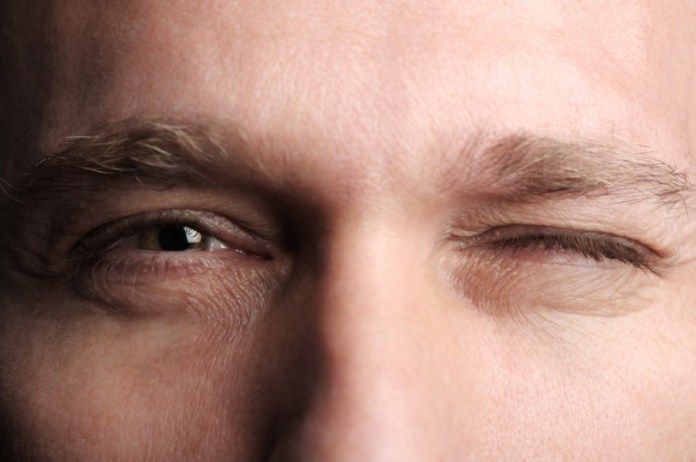 areflect eyebrow twitching