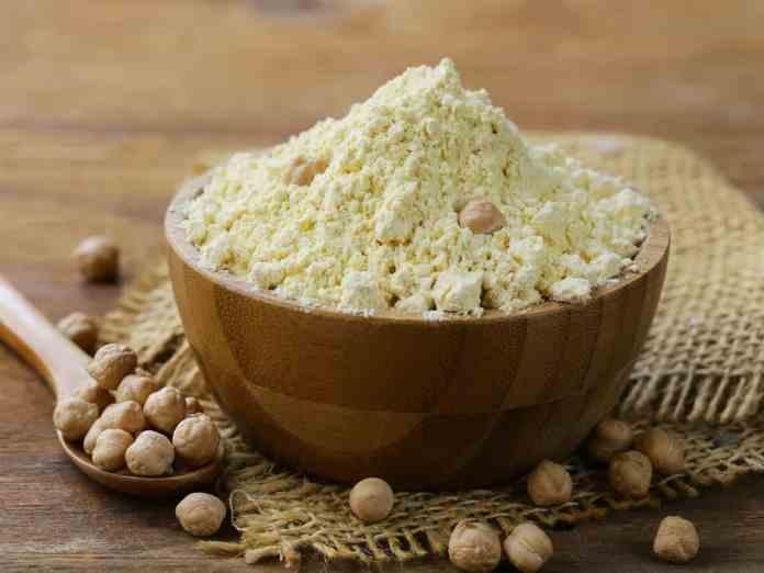 areflect gram flour