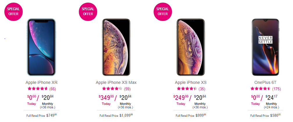 Today's tech news: T-mobile offers free iPhone XR for 3 years