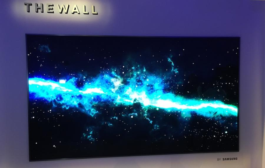 Todays Tech News Samsung Unveils 219 Inch Tv Called The Wall