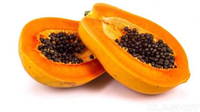 areflect papaya seeds