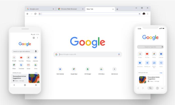 areflect Google Chrome
