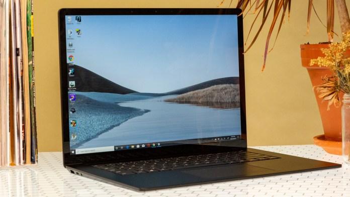 Surface Laptop 4 Update