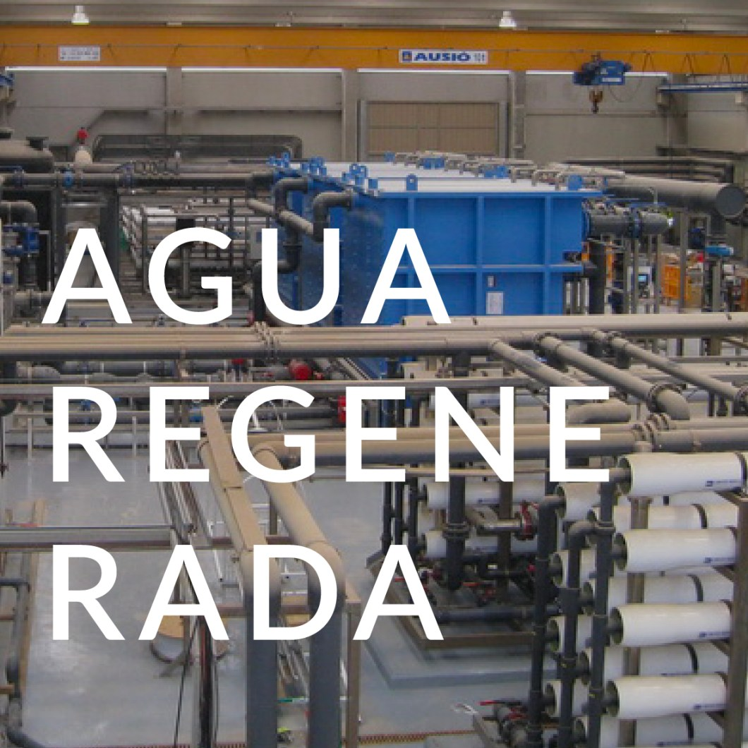 AGUA REGENERADA AREMA