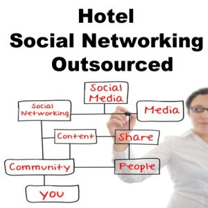 Hotel Social Networking Outsourced