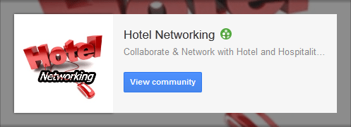 Hotel Networking Community